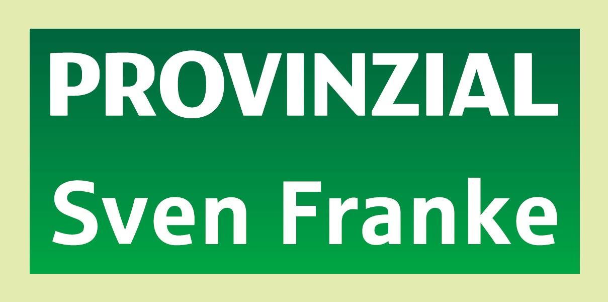 Provinzial Sven Franke
