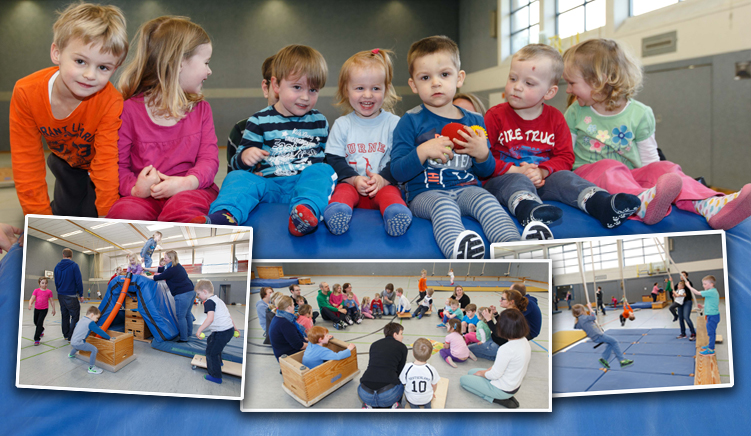 kinderturnen-collage