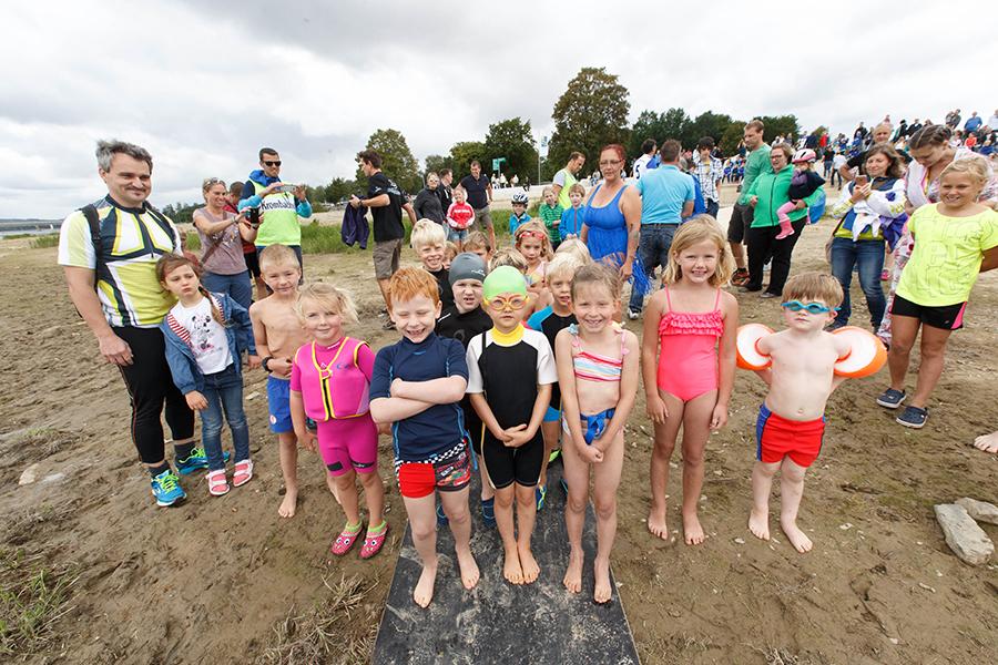 Kinder-Fun-Triathlon: Seetreppe in Körbecke wird zur Siegertreppe