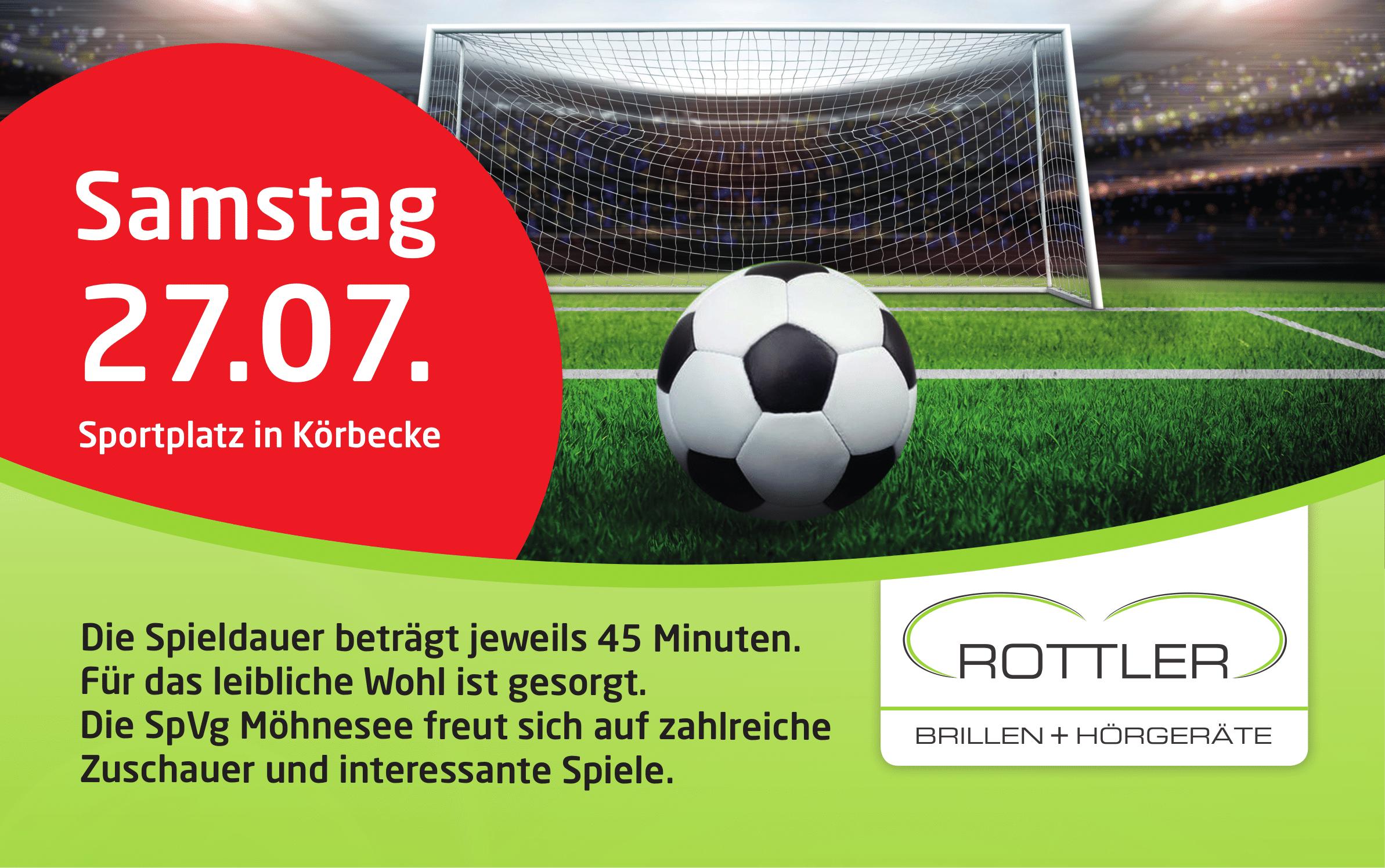 3. Rottler-Cup am Samstag