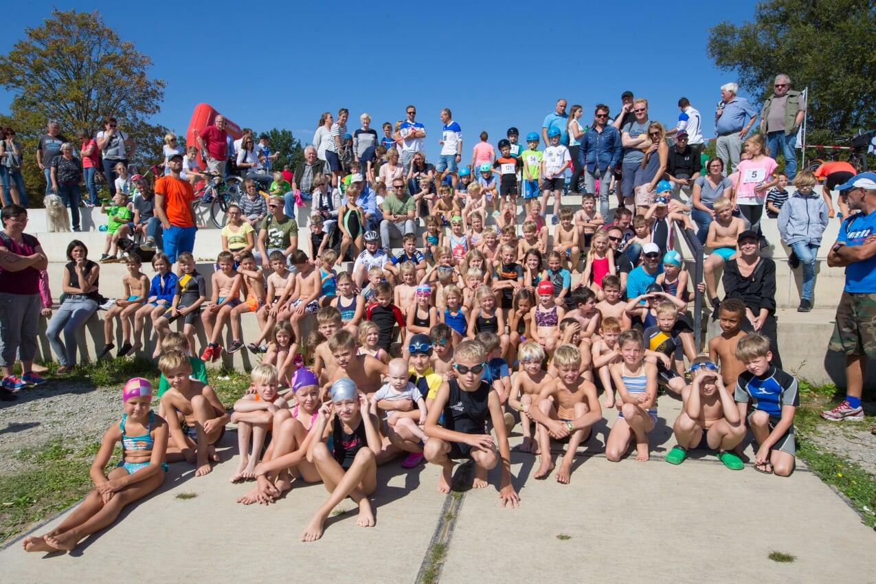 Kinder-Fun-Triathlon Möhnesee am 1.9.2019
