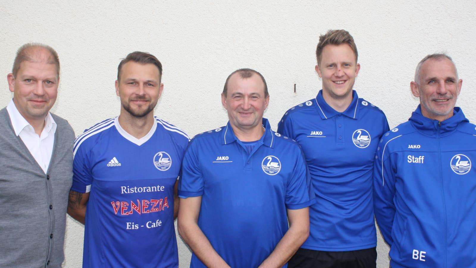 Neues Trainerteam der 1. Mannschaft