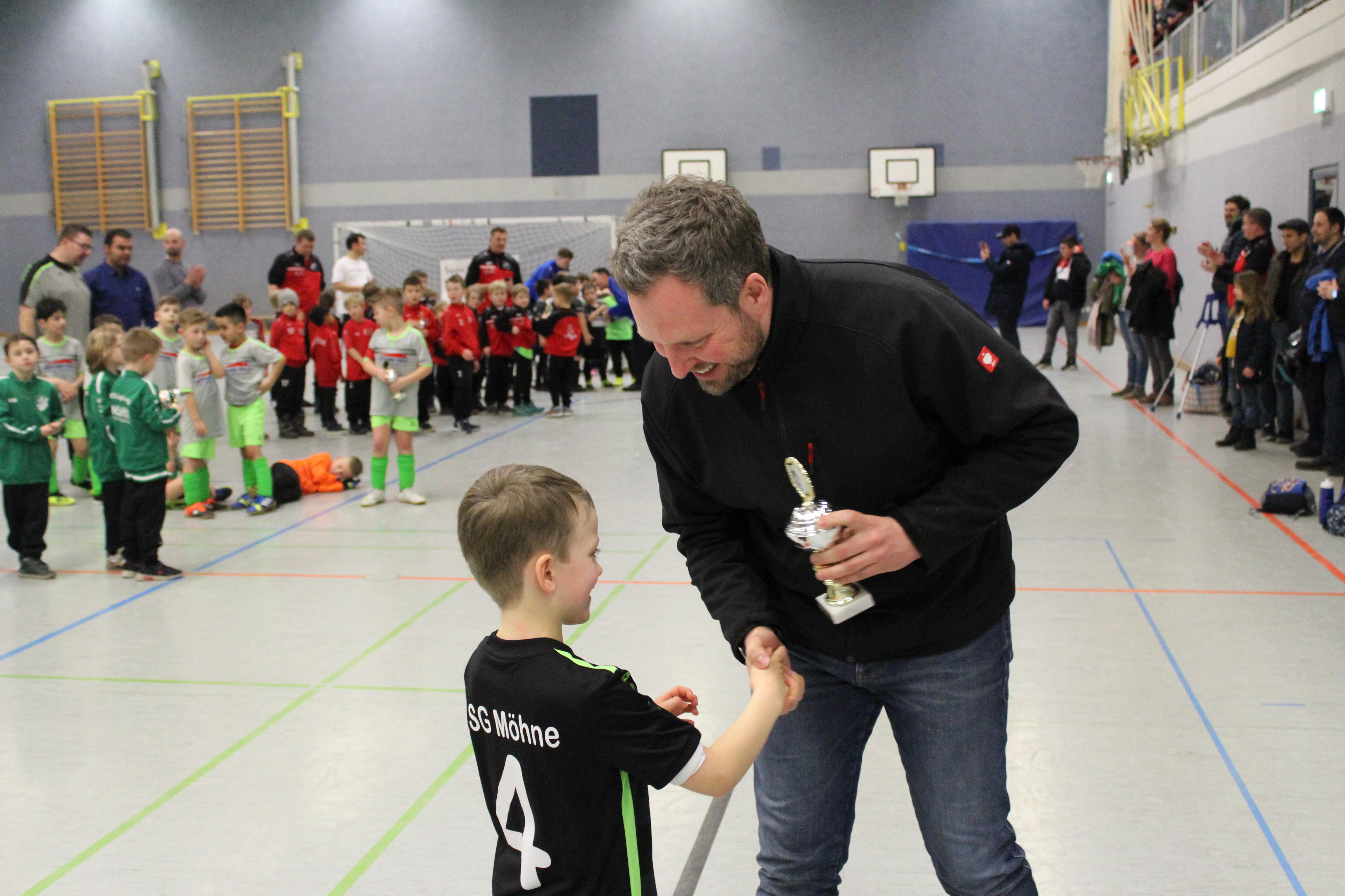 Der 4. Provinzial-Franke-Hallenpokal war wieder ein TOP-Event