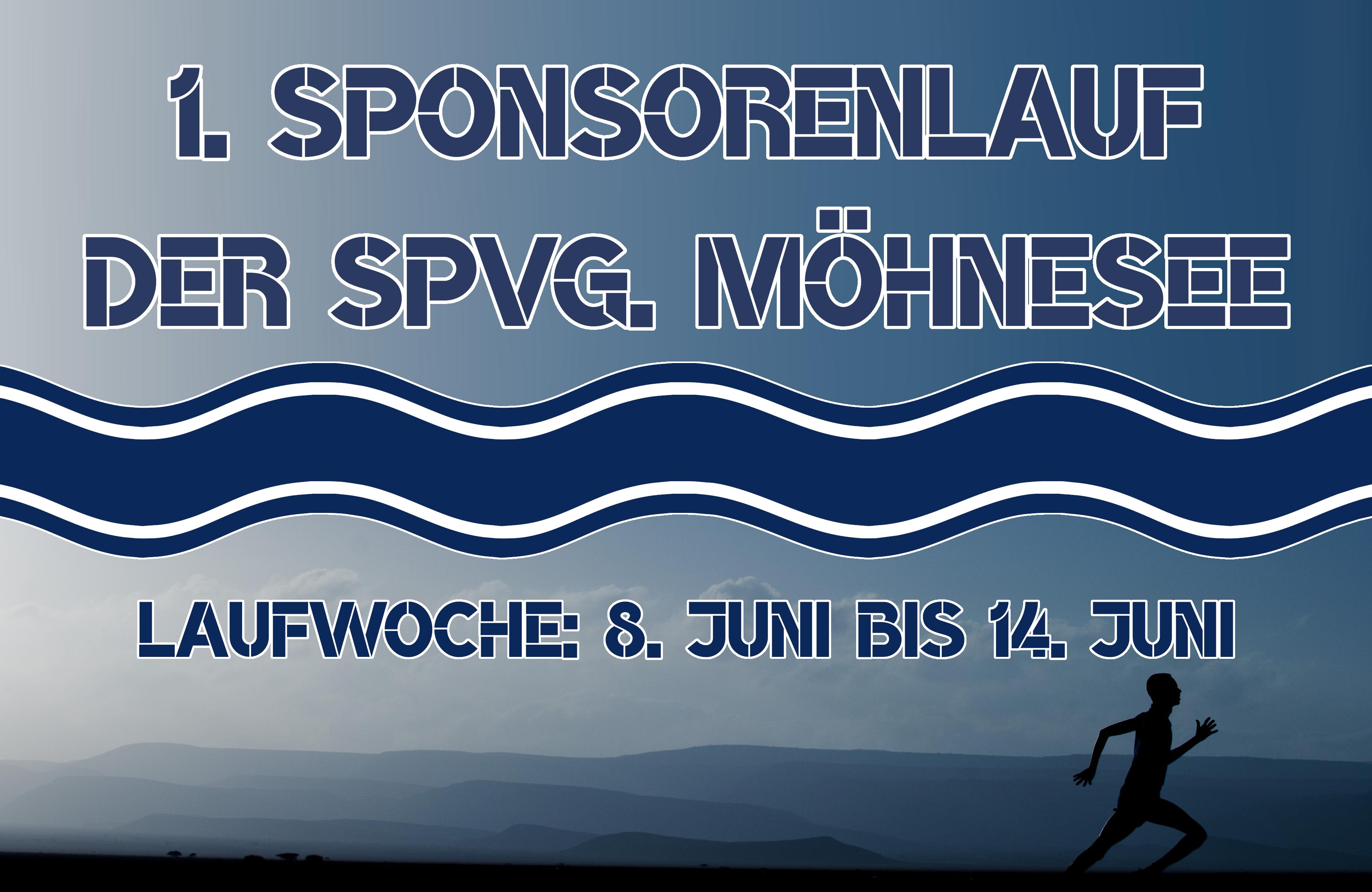 1. Sponsorenlauf der SpVg. Möhnesee